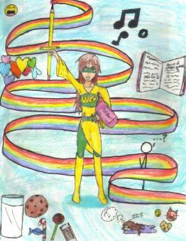 Super Me--Weirdgirl the GNORK!