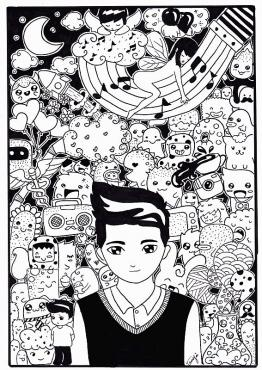 Me in the  Doodle