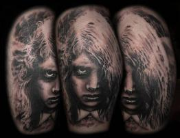 Night of the Living Dead Tattoo
