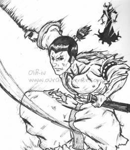 Inktober 15 Samurai Jack