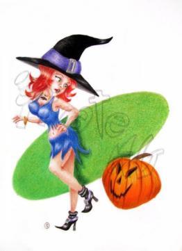 Halloween pin up!!!