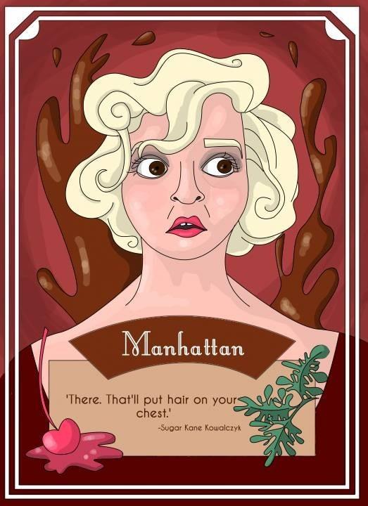 Sugar kane- Manhattan Card