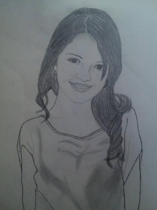supposed to be selena gomez