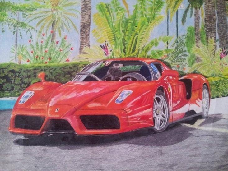 Car Ferrari Enzo
