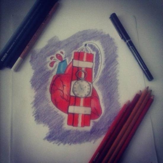 Bomb heart
