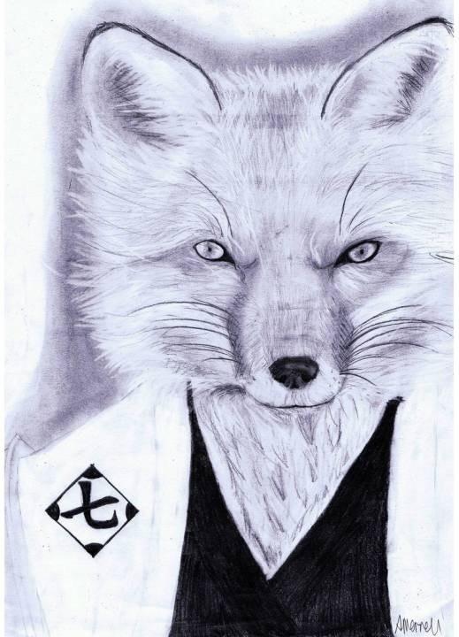 Sajin Komamura(Bleach Realism)Graphite Portrait