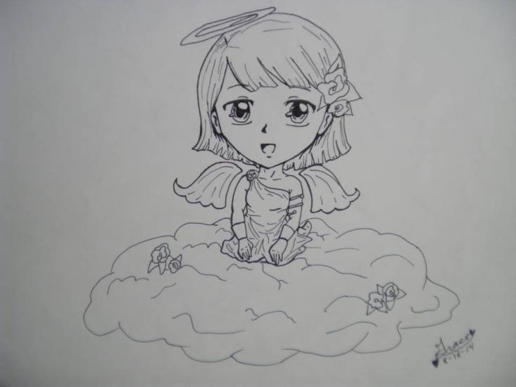 Ink Cloud Chibi