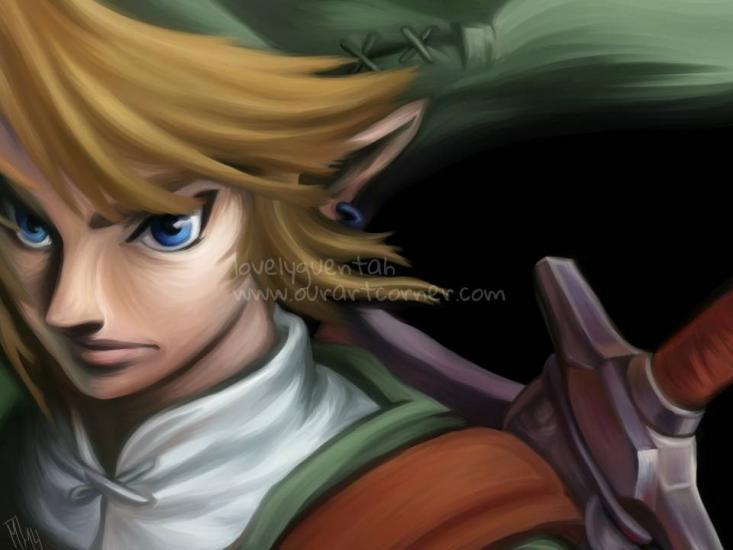 Legen of Zelda - Link