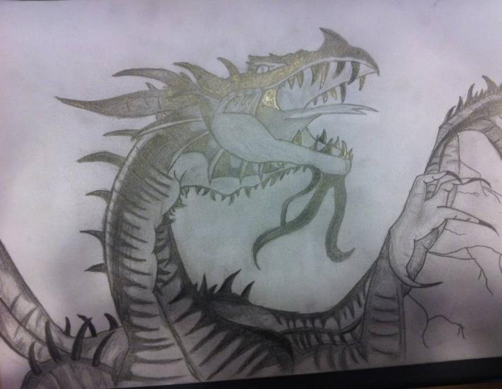 Dragon for contest