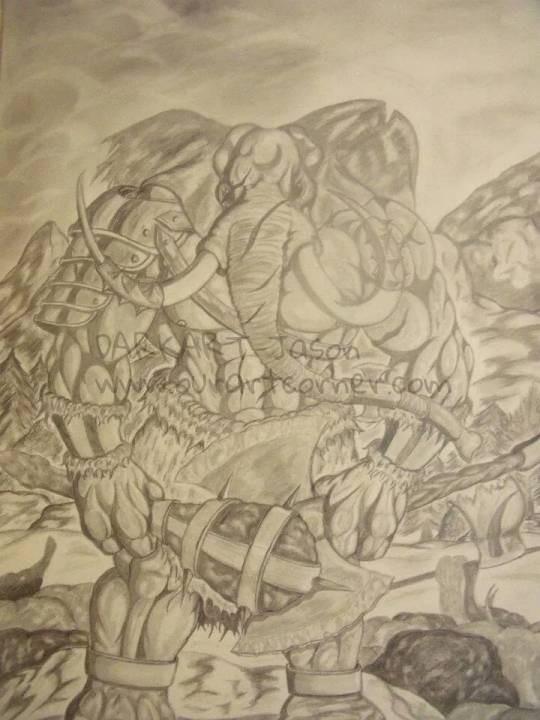 elephant horde