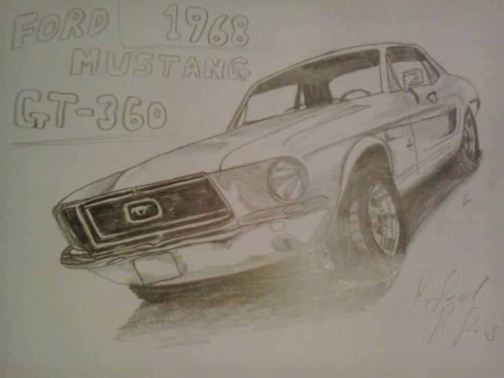 Ford Mustang GT-360 1968 by IguanaLover