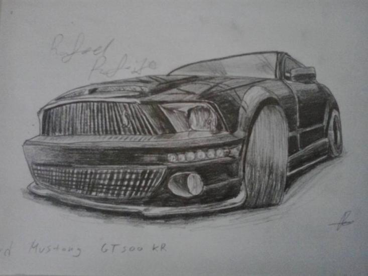 Ford Mustang shelby GT-500KR by IguanaLover
