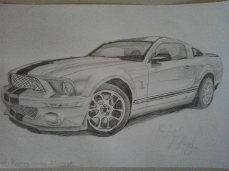 Ford Mustang GT-500 by IguanaLover
