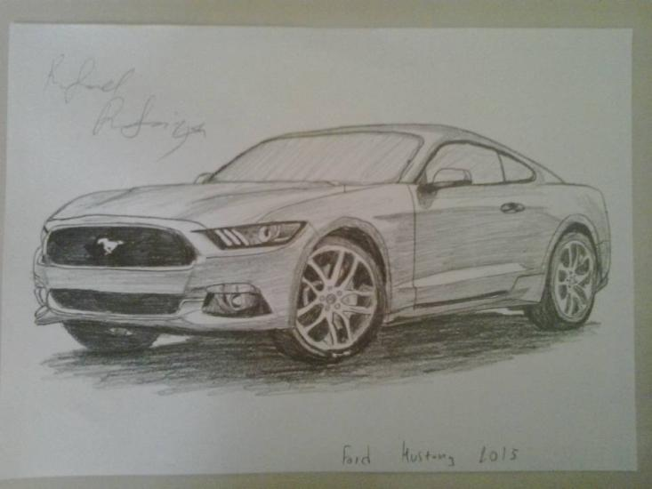 Ford Mustang 2015 By IguanaLover