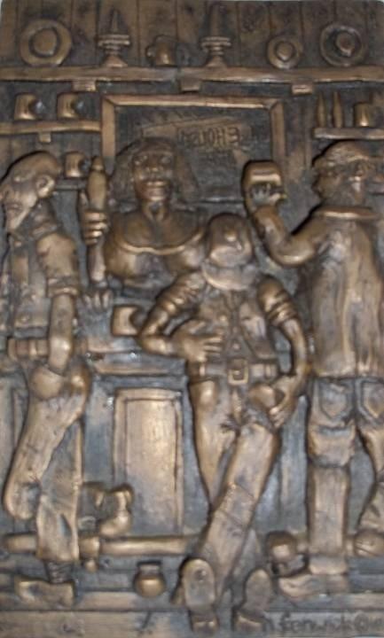 """Public bar"" Bronze"