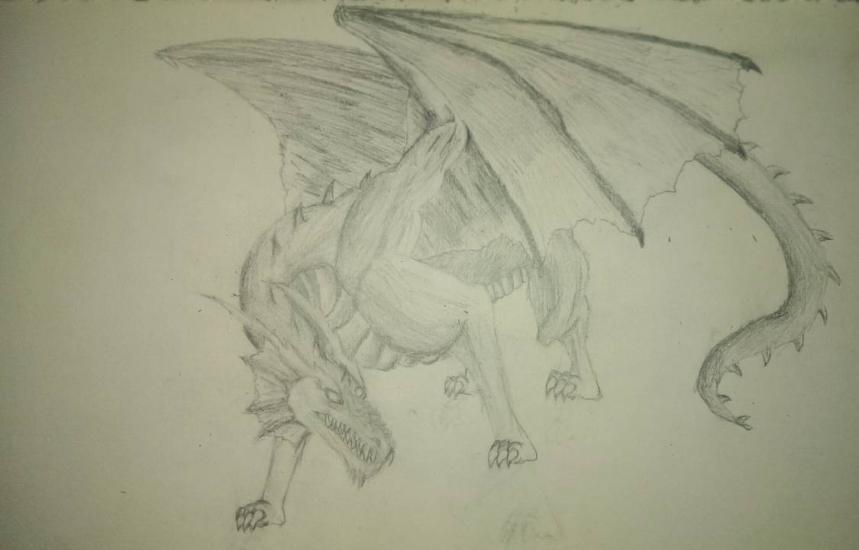 once more it's a dragon