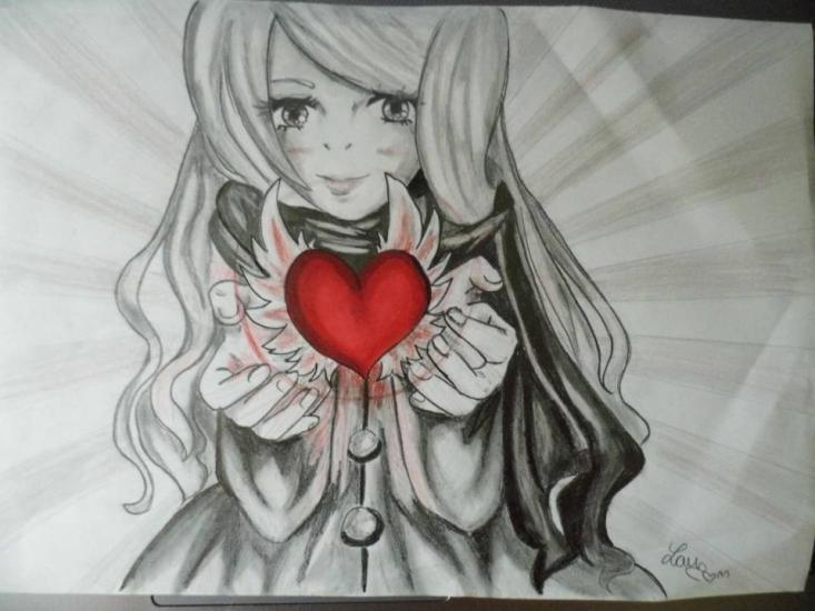 I give you my heart in your hands