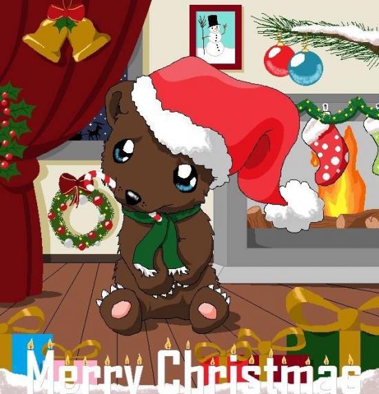 Little christmas bear