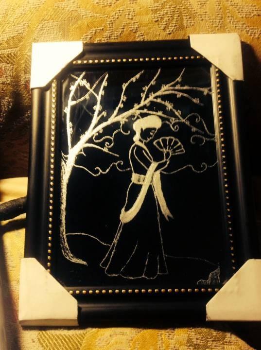 Mirror drawing