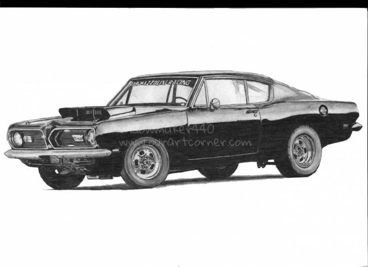 Plymouth Barrraccuda