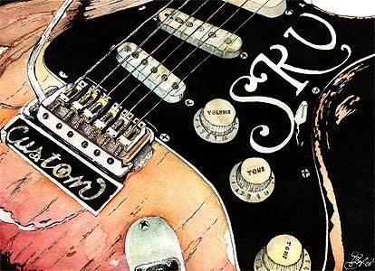 stevie rays guitar