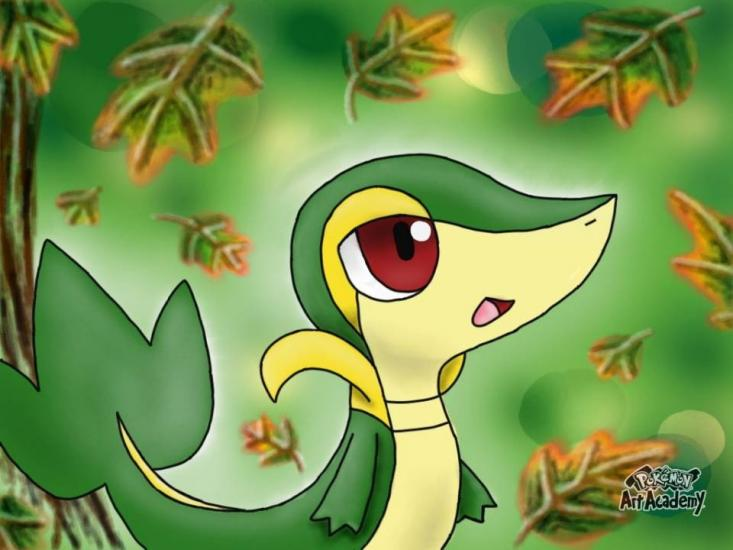 Snivy Fan Art (Pokemon)