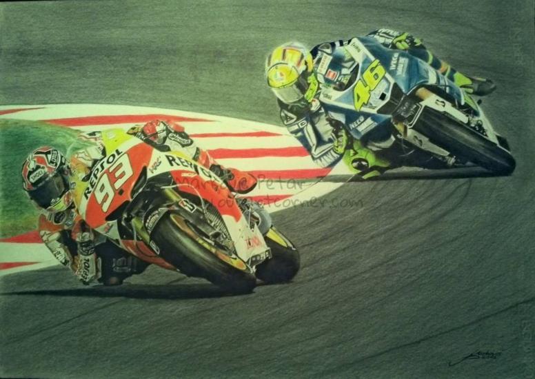 Marquez Vs. Rossi