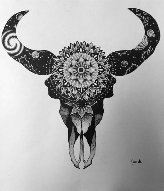 Cosmic Bullskull