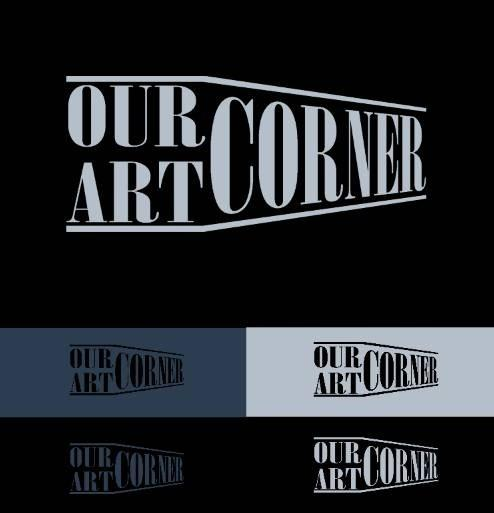 our art corner logo design