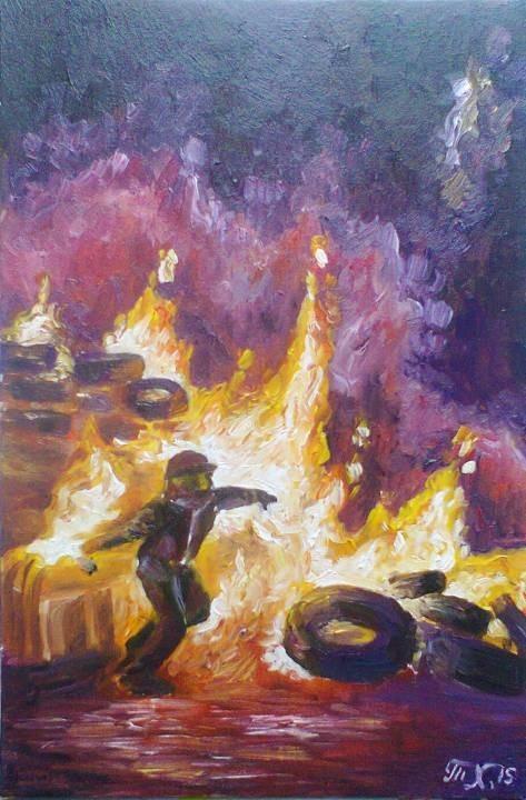 Fire in hand, fire in my heart , 2015