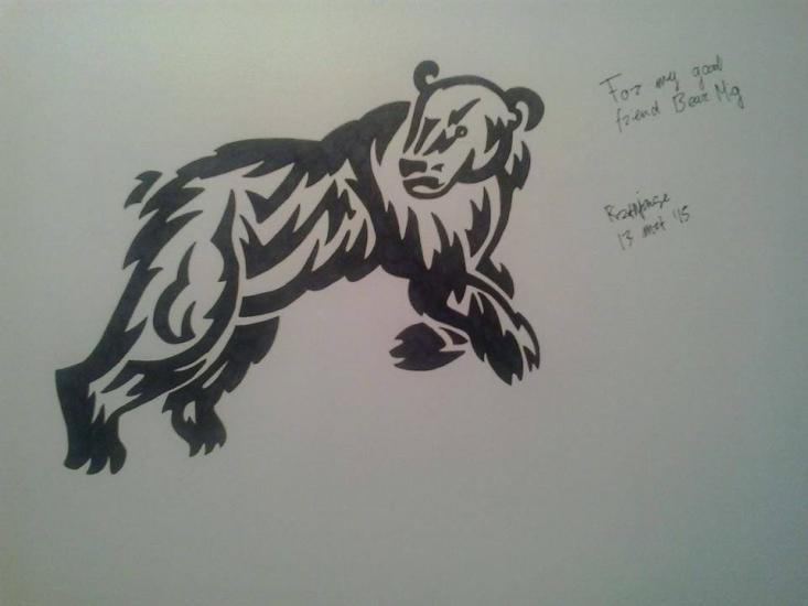 For my friend Bear