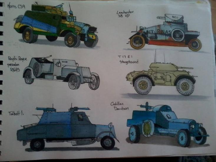 Armored cars 6