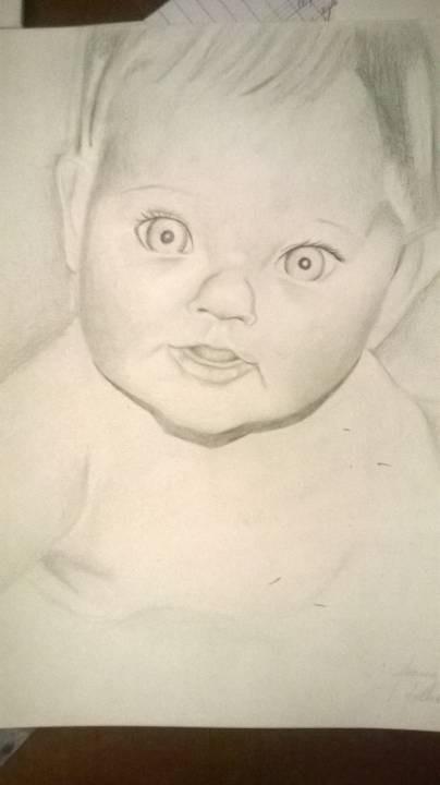 portrait of a friend (baby)