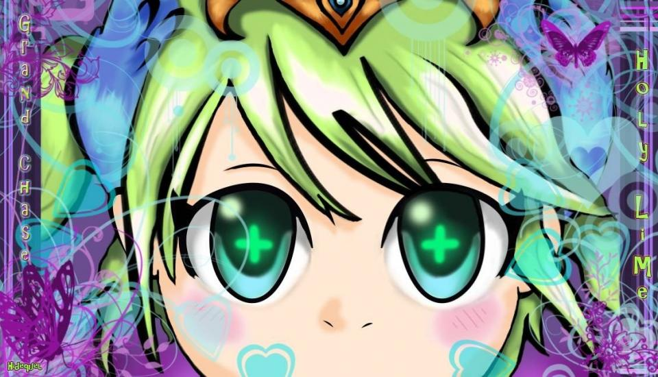 Holly (Lime) - Grand Chase