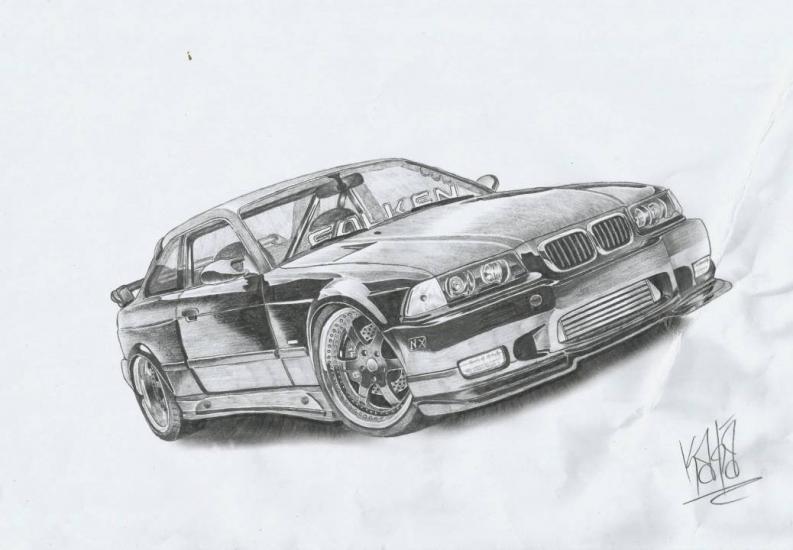 1992 BMW M3 E46 Widebody