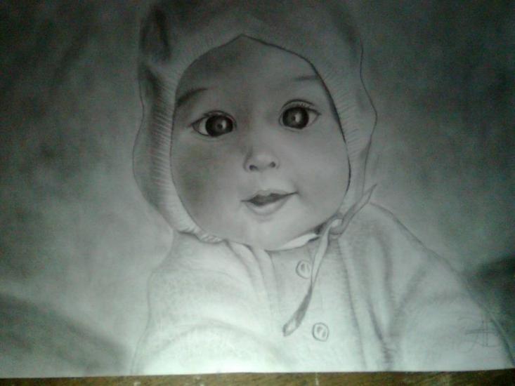 baby selfpic