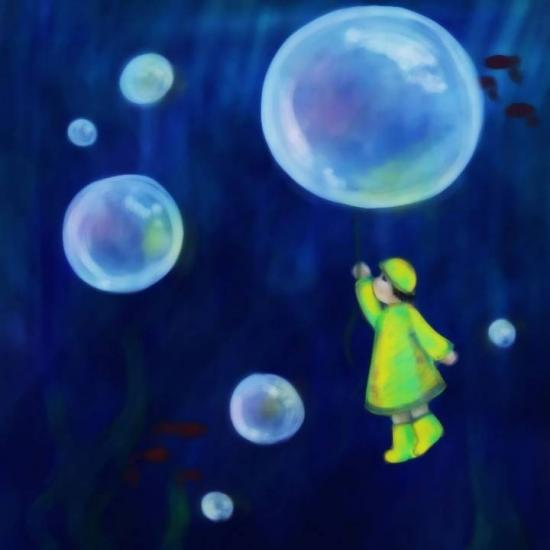 Underwater - sketch 2