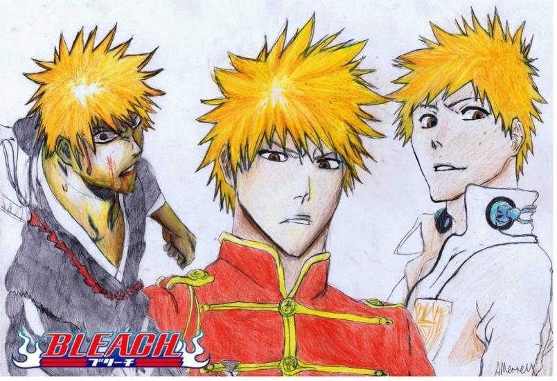 Ichigo doodles