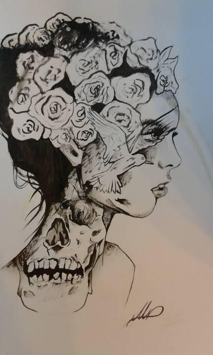 .O.Girl.O.Skull.O.Roses.O.Bird.O.