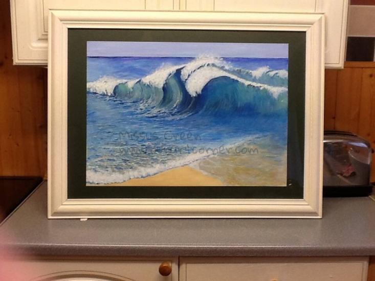 Rip tide waves