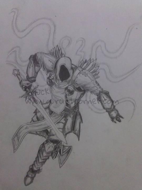 Fan-art Tyrael-DiabloIII