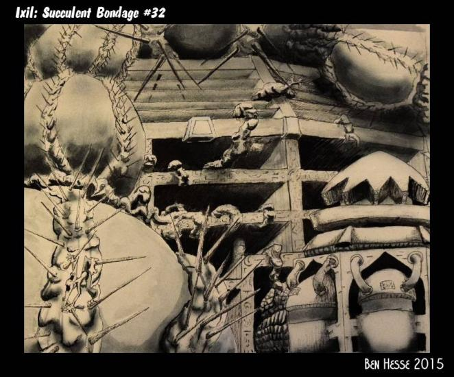 Ixil: Succulent Bondage #32