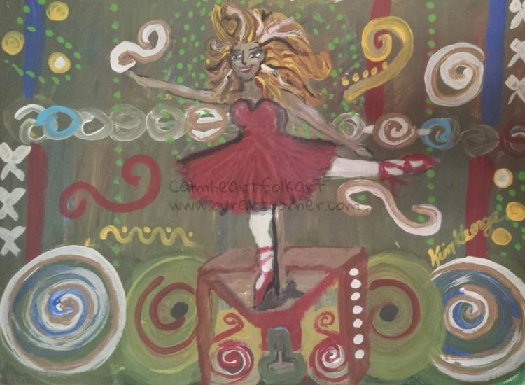 Wind-up Dancer's Whimsy
