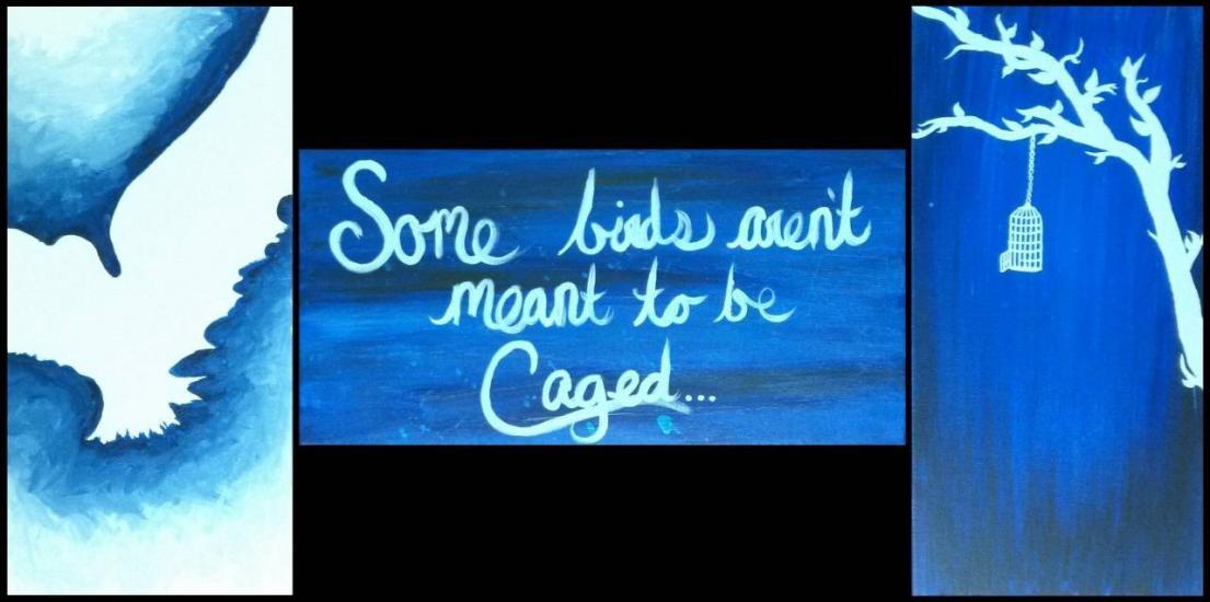 Some birds...