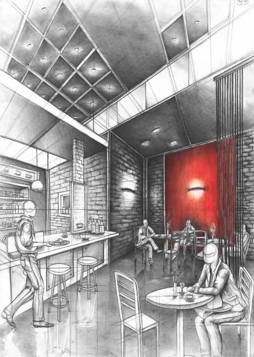 Cafe - project