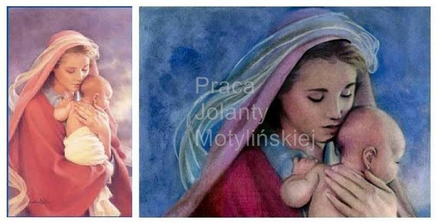 Virgin Mary and Child Jesus