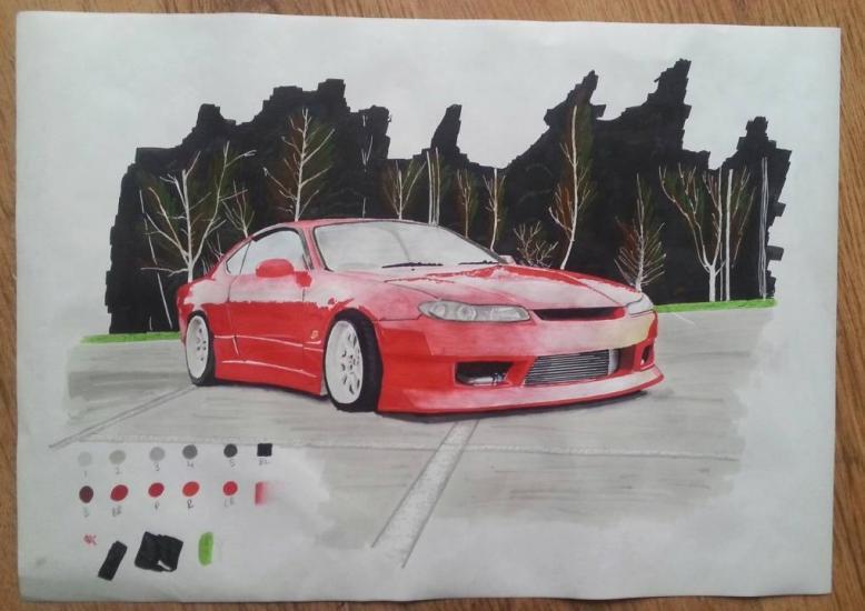 Nissan S15 promarker