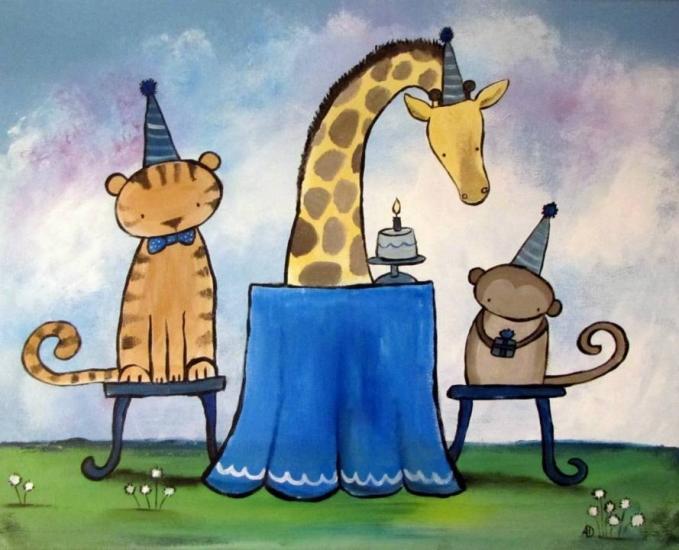 Giraffe's Birthday Party