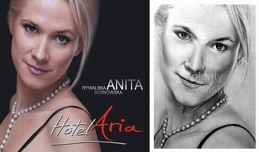 Portrait of Anita Rywalska – Sosnowska (soprano)