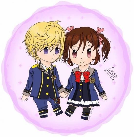Elias-doll and Liz-doll